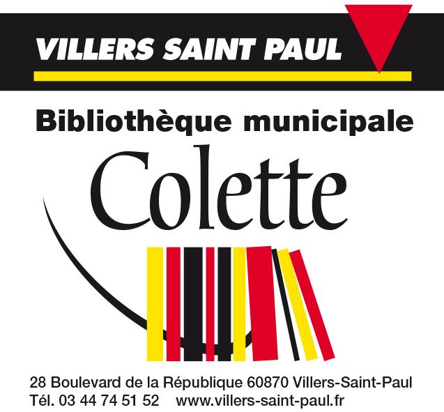 Le logo de la bibliothèque Colette