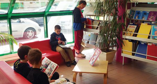 Villers-Saint-Paul : bibliothèque Colette